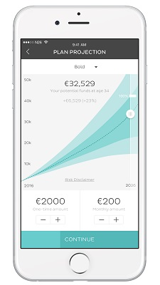 N26_N26 invest_iOS_plan projection