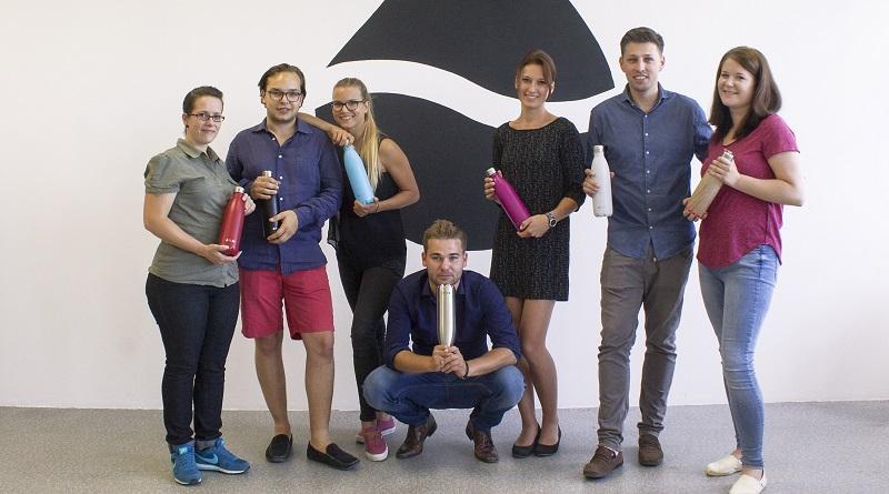 FLSK Team Trinkflasche Edelstahl