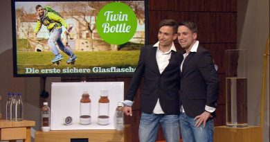 TwinBottle Glasflasche