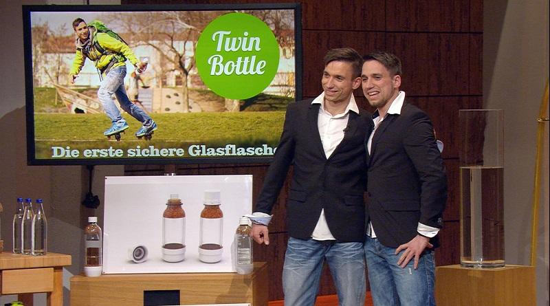 TwinBottle Glasflasche