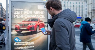 BMW, Shazam und YOC Visual Recognition-Kampagne