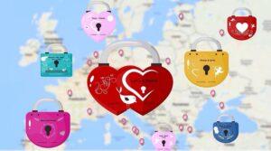 Lockscape virtLock virtuelle Liebesschlösser
