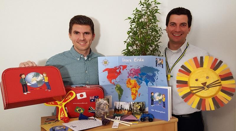 Lukas und Lara auf Tour Weltreise Kinder