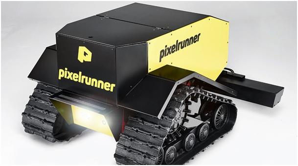 Pixelrunner Roboter