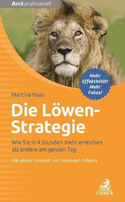 Martina Haas, Die Löwen-Strategie Cover
