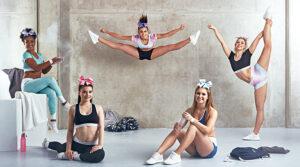 SWEDISH FALL spezielle Cheerleading Practice Wear