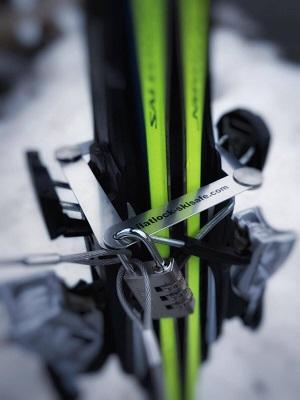 Flatlock Skisafe Diebstahlschutz Ski