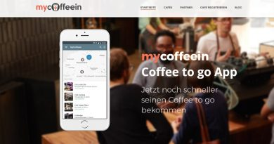 mycoffeein Coffee to go App Berlin