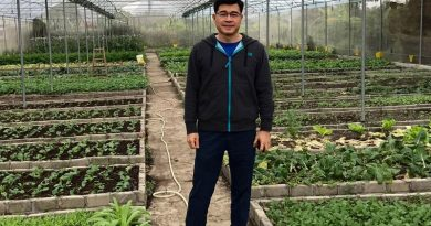 Humphrey Leung und sein Start-up Growgreen