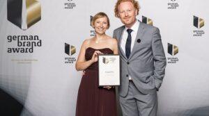 VeggiePur das Food Startup erhält den German Brand Award 2017