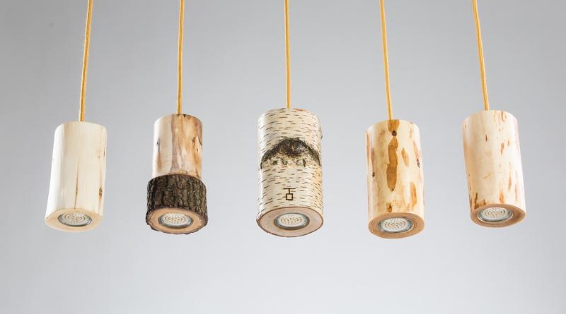 Waldleuchten Holzlampen