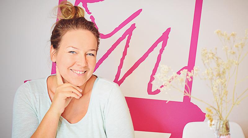 Sarah Walter Gründerin von Dein Remember-Me auf der herCAREER