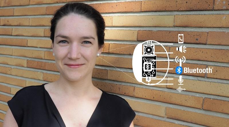 Judith Gampe Gründerin von Nova Products auf der herCAREER
