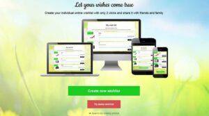 wishsite Online-Wunschzettel international