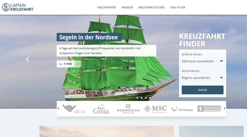 Captain Kreuzfahrt Kreuzfahrtschnäppchen Reedereien