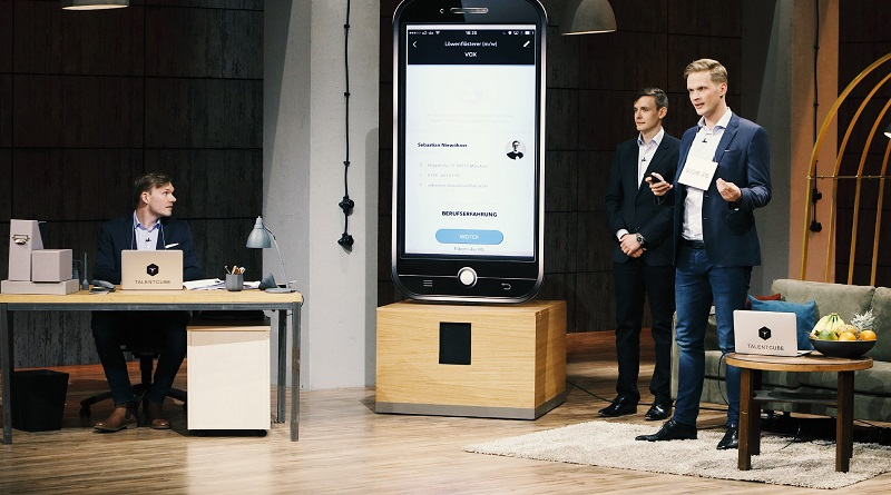 Talentcube Video Bewerbung Smartphone