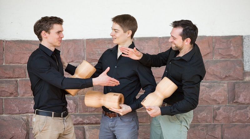 rollholz Massagerolle