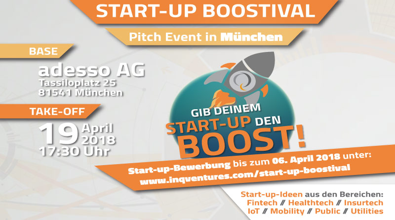 BOOSTIVAL Pitch Event