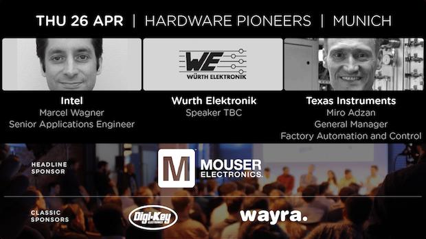 The Future of Industrial IoT: Talks by Intel, Würth Elektronik and Texas Instruments