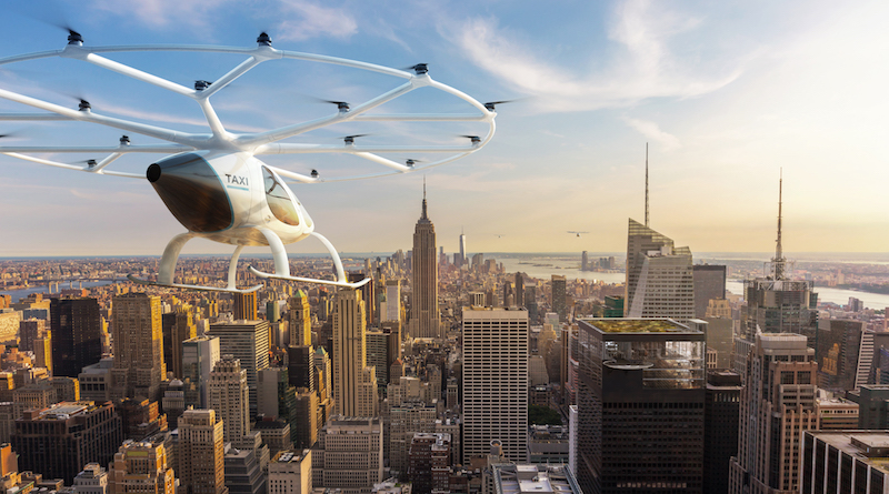 Lufttaxi Volocopter