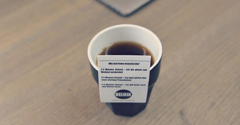 Beluja Coffee: Coffeebags Kaffee im Teebeutel