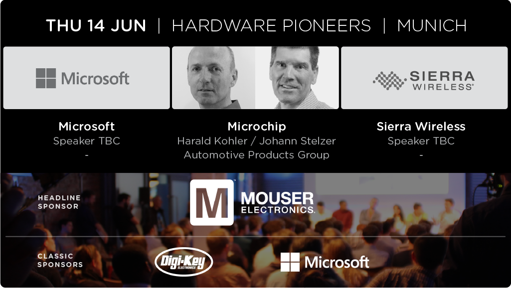 The Internet of Cars - Talked by Microsoft, Microchip and Sierra Wireless