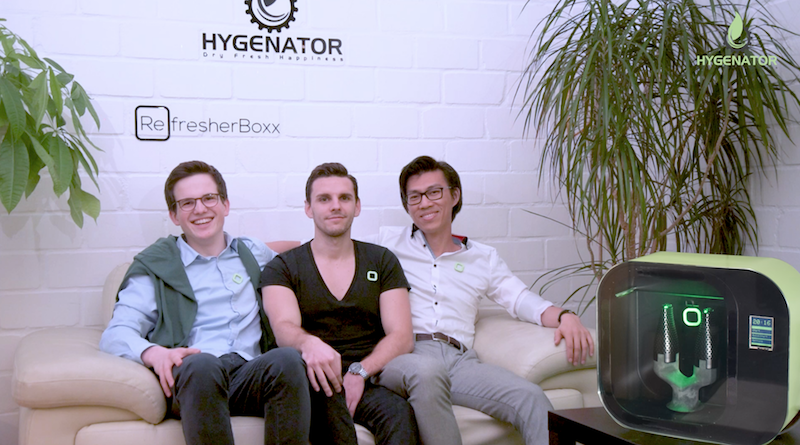 Hygenator RefresherBoxx Stefan Chang Fernseh Sendung Start-up