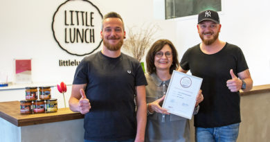 Suppen Start-Up Little Lunch ist Top-Marke 2018 !