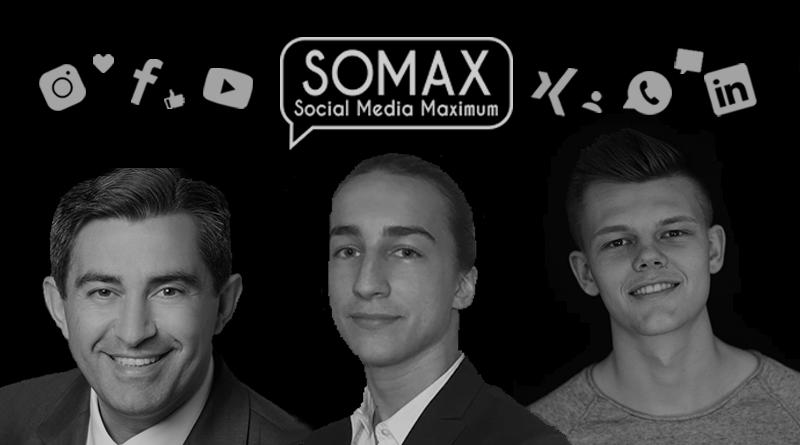 SOMAX social Media Unternehmenserfolg