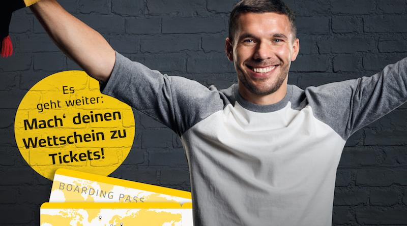 Gewinnspiel: Mit Lukas Podolski und XTiP zur WM nach Moskau!