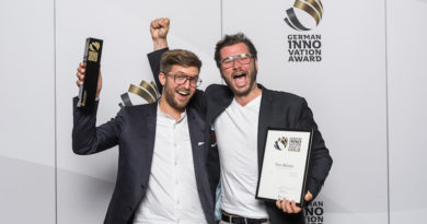 YOU MAWO mit dem German Innovation Award