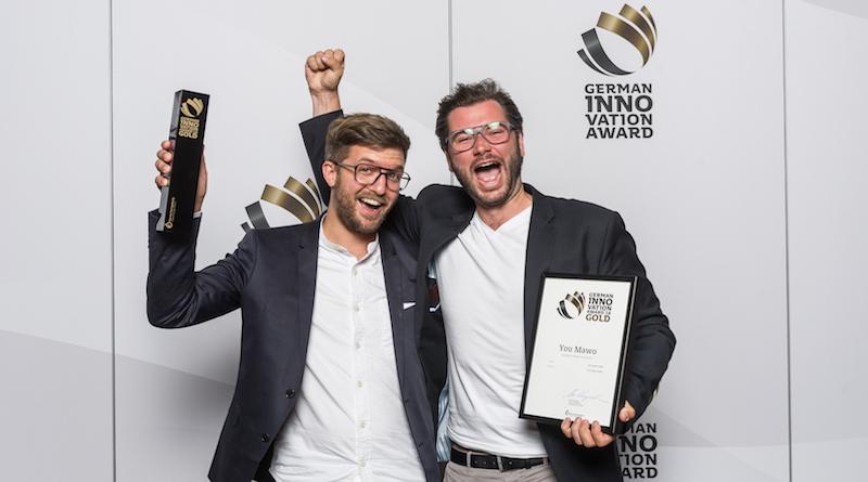 YOU MAWO mit dem German Innovation Award
