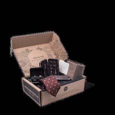GentsBox Abo-Box für Männer mit Mode Accessoires und Pflegeprodukt Chris Fleischhauer
