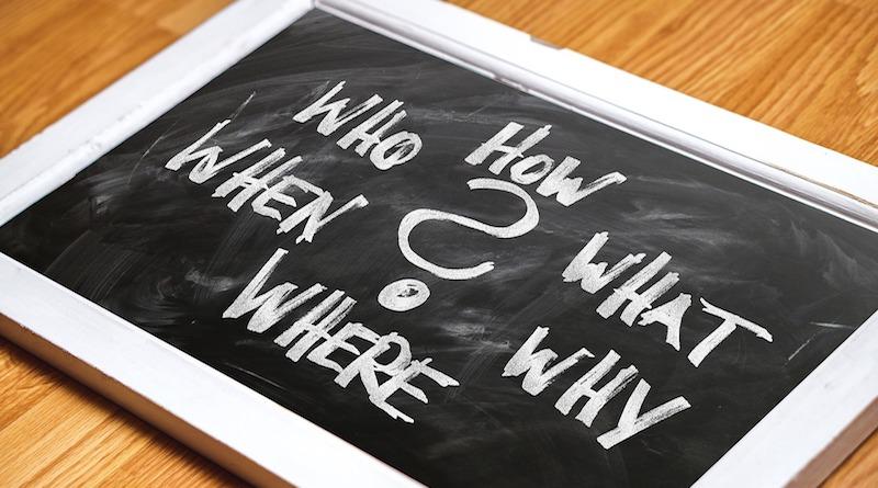 Die Basics: W-Fragen in der PR