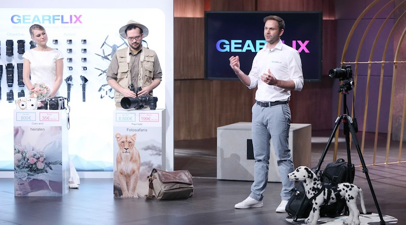 Gearflix: Kameras, Drohnen, Actioncams und Gadgets flixen!