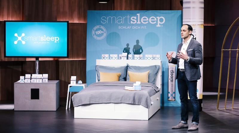 smartsleep Markus Dworak höhle der löwen schlaf Schlafforschung