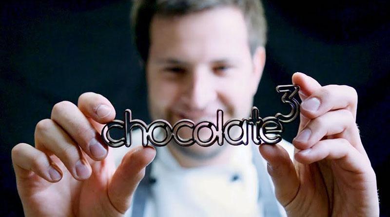 chocolate³ , Schokolade, 3D Druck