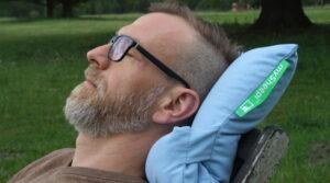 mySheepi orthopädisches Lifestyle Kissen für gesunden Schlaf