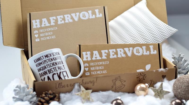 Hafervoll: Flapjack-Adventskalender und Weihnachts-Box
