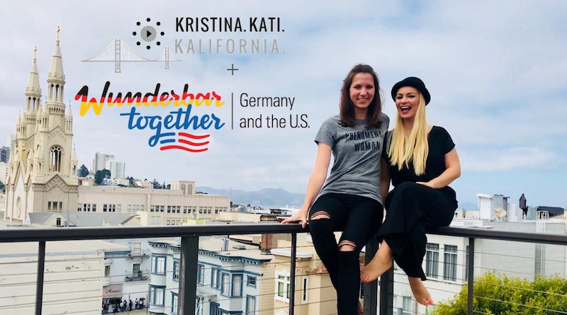 Der Podcast Kristina, Kati, Kalifornia