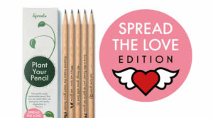 Pflanze, Recycling, Sprout-Stifte Spread The Love