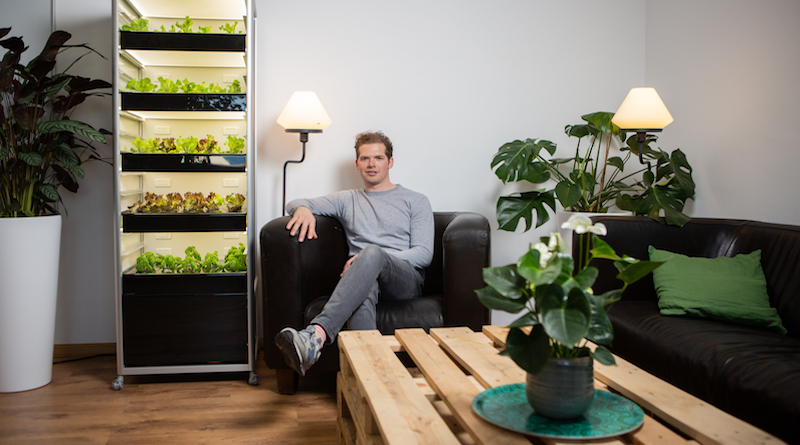 neoFarms Urban-Farming Indoor Gewächshaus WIWIN Award