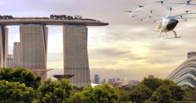Volocopter , Flugtaxis ,eVTOLs ,Singapur