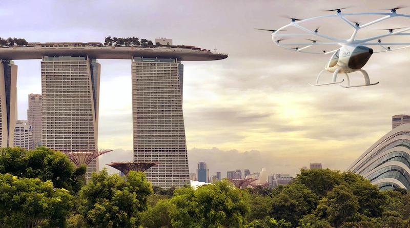 Volocopter , Flugtaxis ,eVTOLs ,Singapur