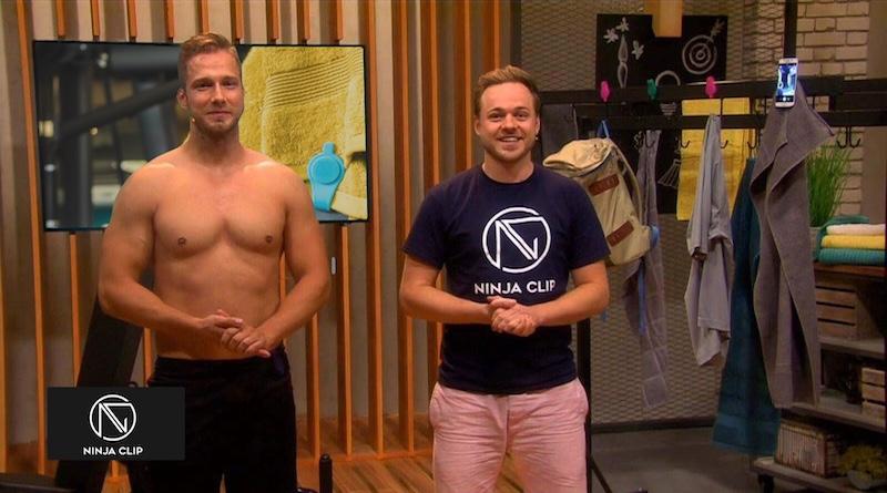 NINJA CLIP macht aus deinem normalen Handtuch Sport
