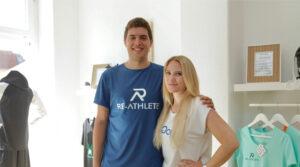 Re-Athlete Sportswear aus recycelten Fischernetzen