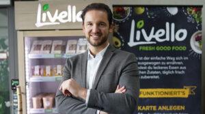 Livello innovativer Catering Service frische und gesunde Gerichte