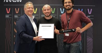 Tracktics gewinnt den Innovators Award 2018 von Arrow Electronics