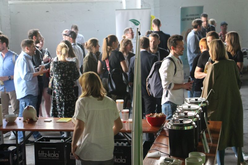 Food Startup Market and Networking Event vom Foodhub NRW