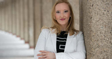Michaela Lindinger war mit think300